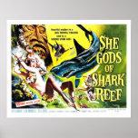 """""""She Gods of Shark Reef""""  Poster"""