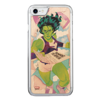 She-Hulk Delivering Summons Carved iPhone 8/7 Case