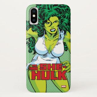 She-Hulk iPhone X Case