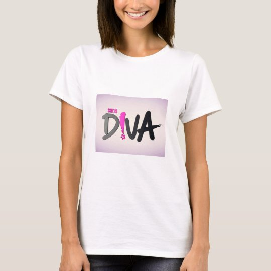 She Is Diva T-Shirt