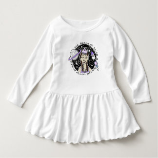 She is Fearless Toddler Ruffle Dress