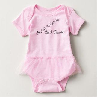 She is Fierce Baby Tutu Baby Bodysuit