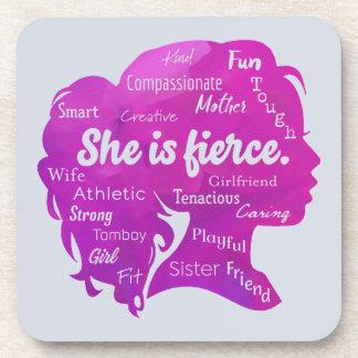She is Fierce Coaster