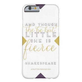 She is Fierce iPhone Case 6