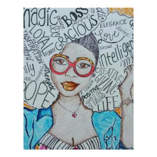 She Is... Letterhead Design