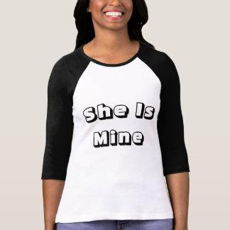 She is mine T-Shirt