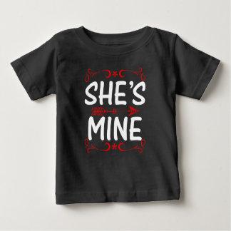 She is Mine T Shirt For Girls/Women