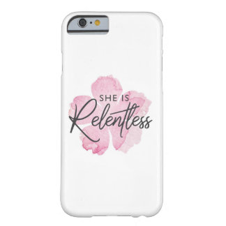She is Relentless Phone Case