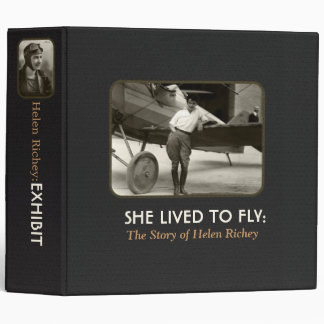 She Lived To Fly:Exhibit Binder