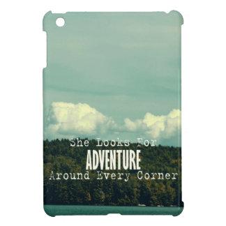 She Looks for Adventure Mini iPad Case iPad Mini Cover