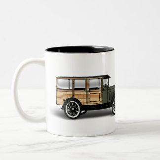She Loves MeFor My Woody ! Two-Tone Coffee Mug