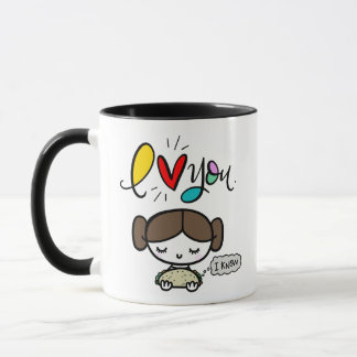 She Loves Tacos, hand lettered Mug
