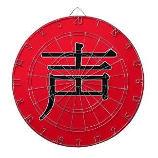 shēng - 声 (noise) dartboards