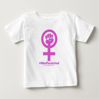 She Persisted Baby T-Shirt
