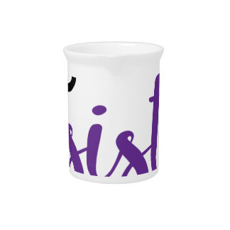 She Persisted (black/purple) Pitcher