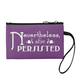 She Persisted Coin Purse