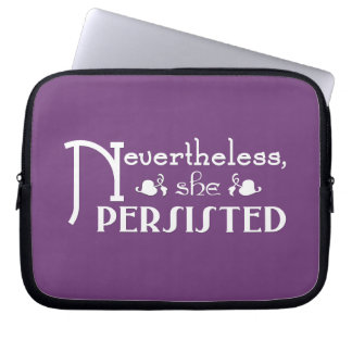 She Persisted Laptop Sleeves
