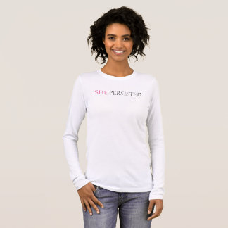 SHE Persisted long-sleeve t-shirt