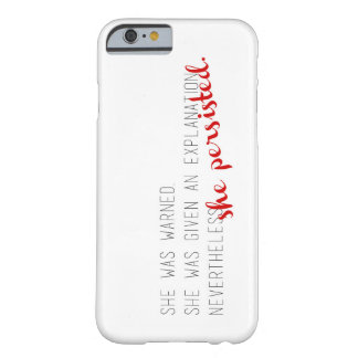 She Persisted phone case