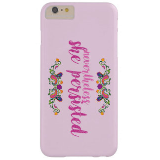 She Persisted Pink iPhone Case