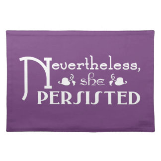 She Persisted Placemat