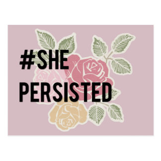 She Persisted - Postcard