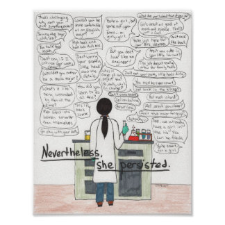 She Persisted (STEM) Poster