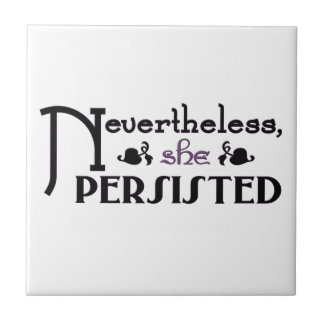 She Persisted Tile