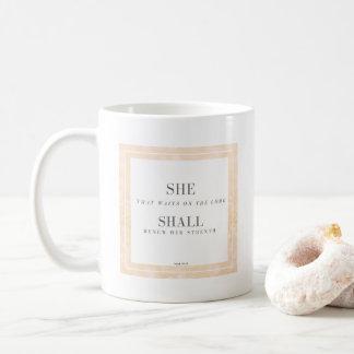SHE SHALL Mug Isaiah 40:31