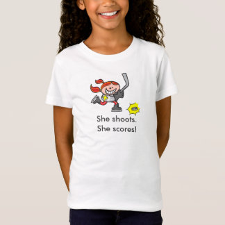 She shoots. She scores! T-Shirt