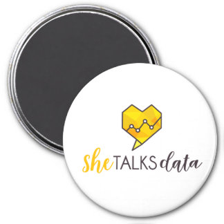 She Talks Data Magnet