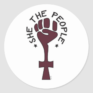 She the People Sticker