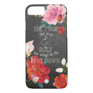 She Took The Leap iPhone 7 Case