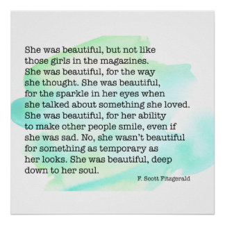 She Was Beautiful Poster