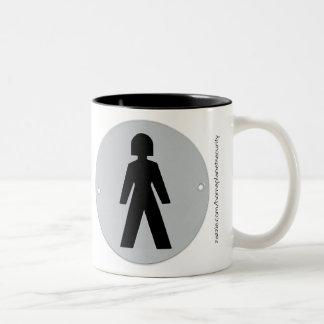 She Who Wears the Pants Two-Tone Coffee Mug