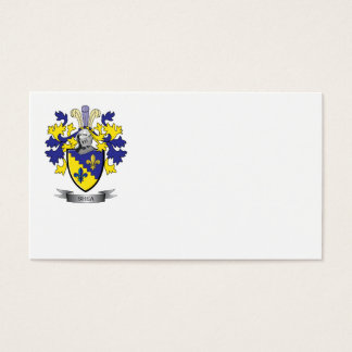 Shea Coat of Arms Business Card
