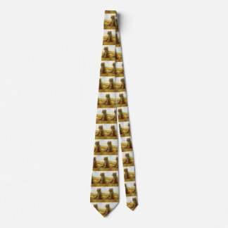 Sheaves of Wheat by Vincent van Gogh Tie