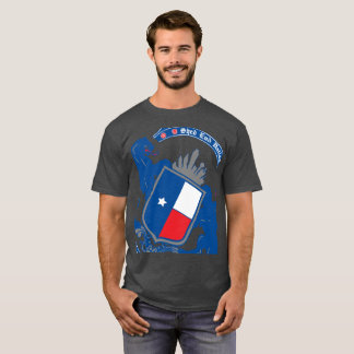Shed End Dallas Cropped Badge T-Shirt
