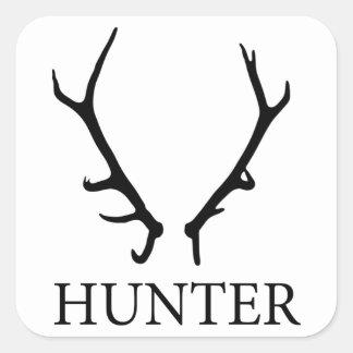 Shed Hunter Square Sticker