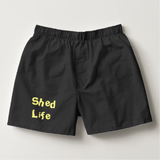 Shed Life Boxers for Men