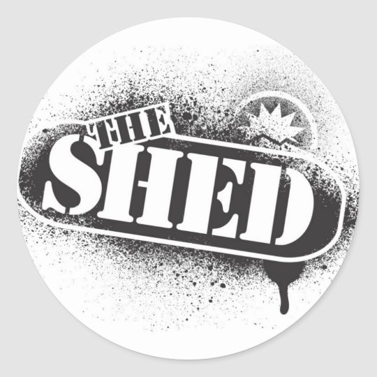 shed sticker