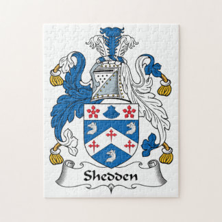 Shedden Family Crest Jigsaw Puzzle