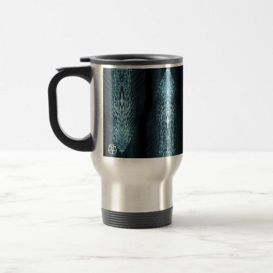 Sheen Glass Abstract Photo Travel Mug