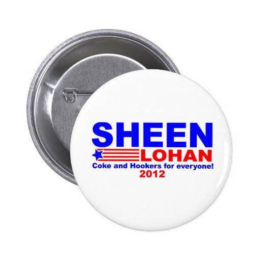 Sheen & Lohan Pins