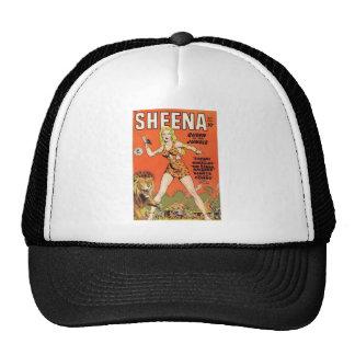 Sheena Jungle Woman Comic book Trucker Hat