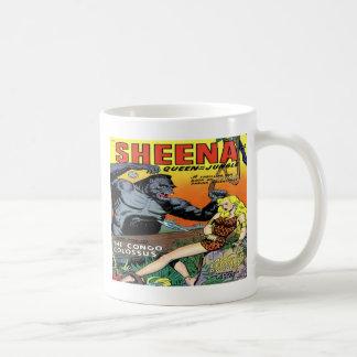Sheena Queen of the Jungle #8 Classic Covers Mug