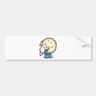 Sheep. Baaah (cough ). Car Bumper Sticker