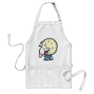 Sheep. Baaah (cough ). Standard Apron