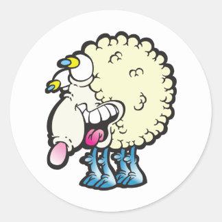 Sheep. Baaah (cough ). Stickers