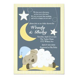 Sheep Baby Shower Invitation